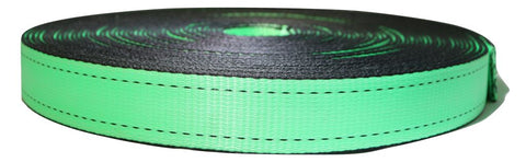 1 - 2 Electric Green Sling Webbing W/ Edge