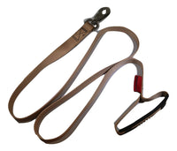 "1"" x 5.5 ft. Tan Pet Leash with Snap Hook and Comfort Hand Grip - RatchetStrap.com"