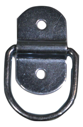"1/4"" Wire D-Ring w/ Bolt-On Clip - ratchetstrap-com.myshopify.com"