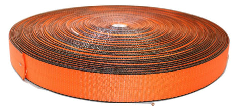 "2"" Scuff Edge® Webbing - Orange - ratchetstrap-com.myshopify.com"