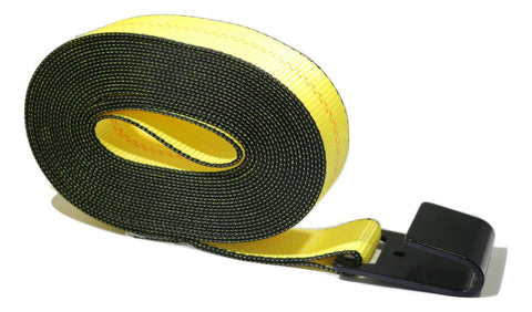 2 Winch Strap Or Replacement For Ratchet Flatbed