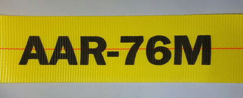 "4"" Webbing - AAR Approved ( Association of American Railroads ) - ratchetstrap-com.myshopify.com"