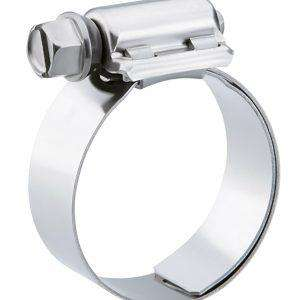 "QTY 10 - Breeze Liner Stainless Steel Hose Clamp, SAE Size 28, 1-5/16"" to 2-1/4"" Diameter Range"