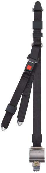 Integrated Combination Belt with Height Adjuster | AL700856HA - wheelchairstrap.com
