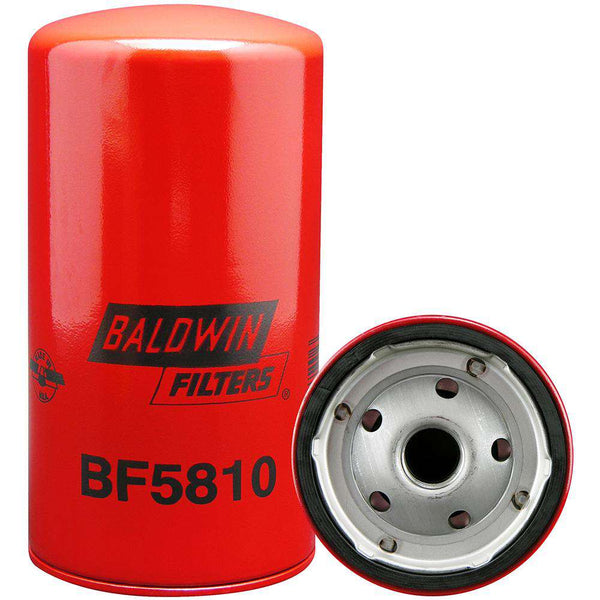 Qty 4 - BF5810 Baldwin Secondary Fuel Spin-on Filter - RatchetStrap.com