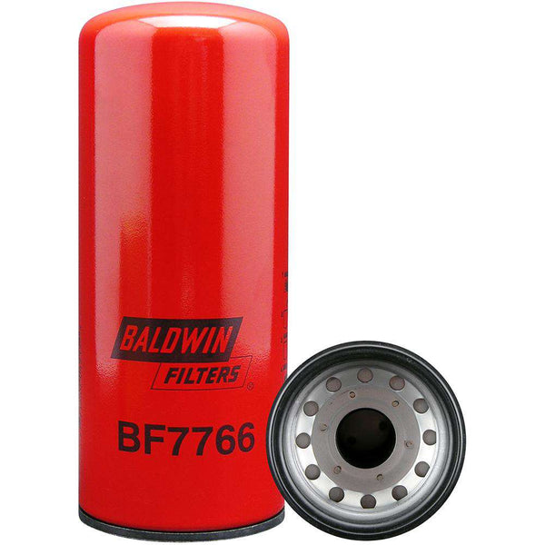 Qty 4 - BF7766 Baldwin Fuel Filter, 9-5/32 x 3-23/32 x 9-5/32 In - RatchetStrap.com
