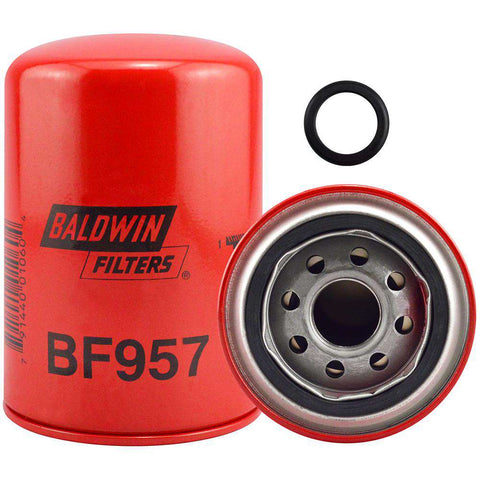 Qty 4 - Baldwin BF957 Fuel Spin-on Filter
