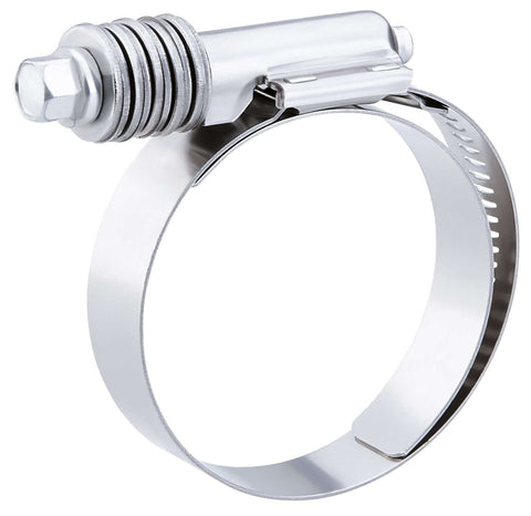 "QTY 10 - Breeze Constant-Torque Stainless Steel Hose Clamp 7 3/4"" to 8 5/8"""