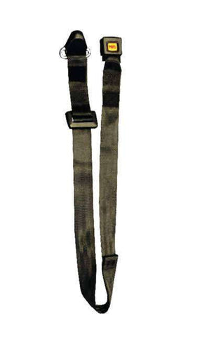 Static Shoulder Belt with Black Webbing | H350226 - wheelchairstrap.com