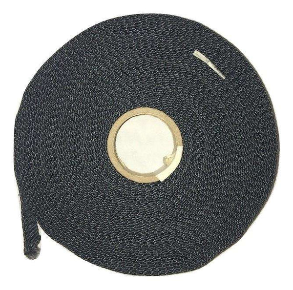 "1"" Black Kevlar® Webbing - Price is Per Foot - ratchetstrap-com.myshopify.com"