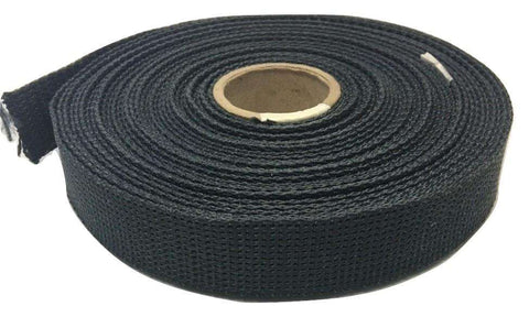 "2"" Black Kevlar® Webbing - Price is Per Foot"