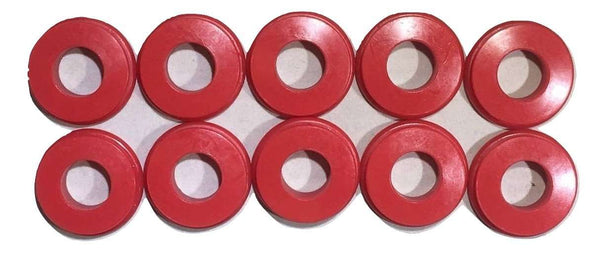 QTY 10 Polyurethane Gladhand Seals Red RatchetStrap.com