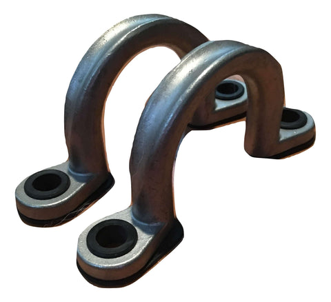 "Heavy Duty Footman Loops, 1.5"" Inch, Tie Down Anchor - QTY 2"
