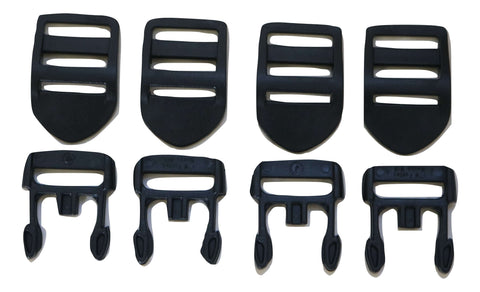 (4) Nexus Spa Hot Tub Cover Broken Clip Side Only Repair Kit Lock - ratchetstrap-com.myshopify.com