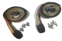 Spa Cover Hot Tub Wind Securement Strap Complete Kit Nexus Locks - Olive Drab - RatchetStrap.com
