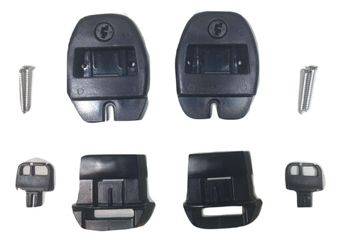 QTY 2 Nexus Center Release Buckle Repair Kit for Hot Tub / Spa Straps - ratchetstrap-com.myshopify.com