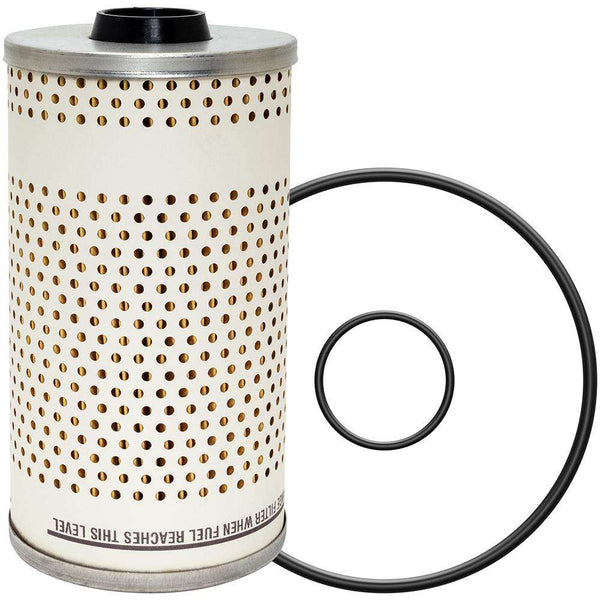 Qty 4 - PF7680 Baldwin Fuel Filter, Element Only Filter Design - RatchetStrap.com