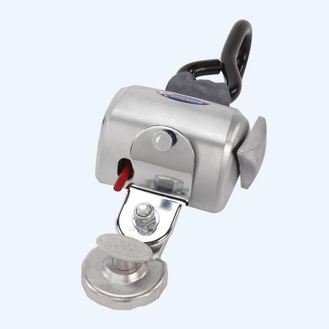 Replacement Fully Automatic QRT Standard Retractor (single knob) Mounted with Slide 'N Click Fitting | Q8-6201-SC - wheelchairstrap.com