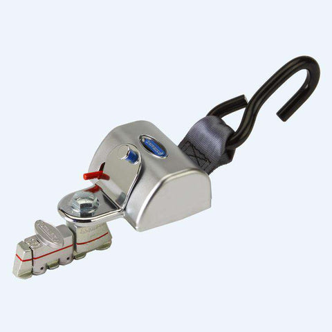 Replacement Fully Automatic QRT Max Retractor (knobless) Mounted with L-Track Fitting | Q8-6209-L - wheelchairstrap.com