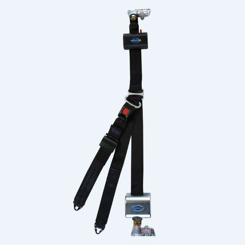 Retractable Lap And Shoulder Belt Combo With Retractable Height Adjuster | Q8-6326-A1-HR131