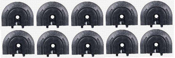 End Cap for Flange Series L-Track 10 Pack | QC06058