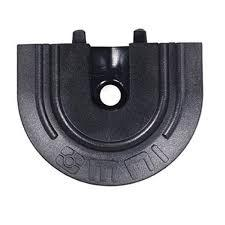 End Cap for Flange Series L-Track | QC06058 - wheelchairstrap.com