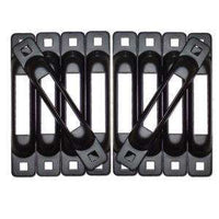 SNAPLOCS E FITTING MULTI PACK SINGLE E-TRACK HOLDER - BLACK - RatchetStrap.com
