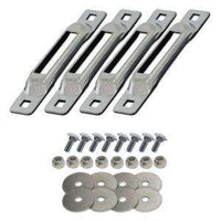 SNAPLOCS ZINC 4 PACK WITH CARRIAGE BOLTS - RatchetStrap.com