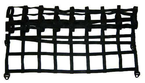 Build Your Own - Custom Nets 1 Or 2 Webbing / Black 8 Inch Id Squares Contractor