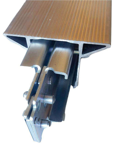 "Heavy Duty 5"" Wide Top Aluminum E-Track Decking/Shoring Beam - Extrusion Made in USA - ratchetstrap-com.myshopify.com"