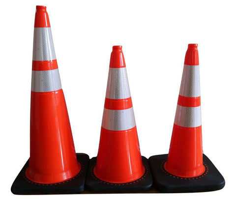 Orange Pvc Traffic Safety Cones Contractor