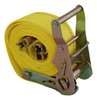 "2"" x 12 ft. Interior Van Ratchet E-Track Straps w/ Spring E Fittings RatchetStrap.com"