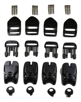 Qty 4 ACW SPA or Hot Tub Plastic Buckle Replacement Kit - ratchetstrap-com.myshopify.com