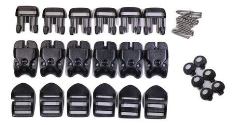 QTY 6 ACW SPA or Hot Tub Cover Locking Plastic Buckle Replacement Kit - ratchetstrap-com.myshopify.com