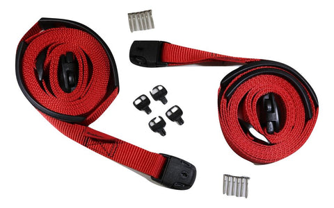 Red Spa Cover Hot Tub Wind Strap Complete Kit Nexus Locks - ratchetstrap-com.myshopify.com