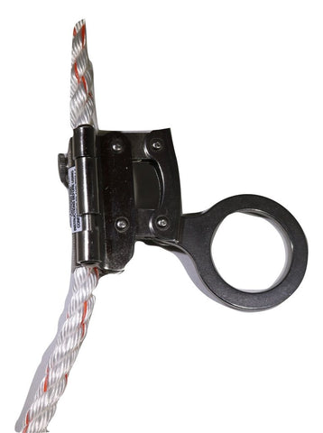 "Stainless Steel Rope Grab for 5/8"" Fall Protection Rope Made in USA - ratchetstrap-com.myshopify.com"