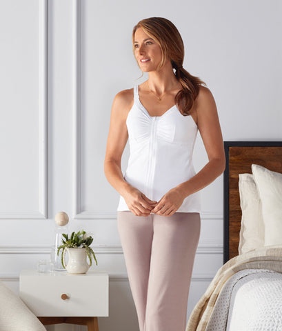 Facing breast surgery? After-care garments help with healing