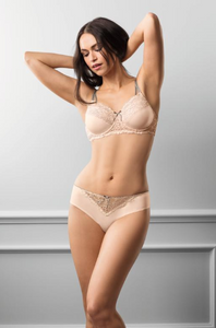 Celine Underwire-Light Rose/Grey