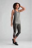 Sports Top-Grey Melange