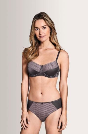 Maya Underwire-Grey/Rose