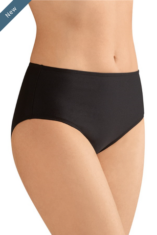 Cayman High Waist Brief-Black