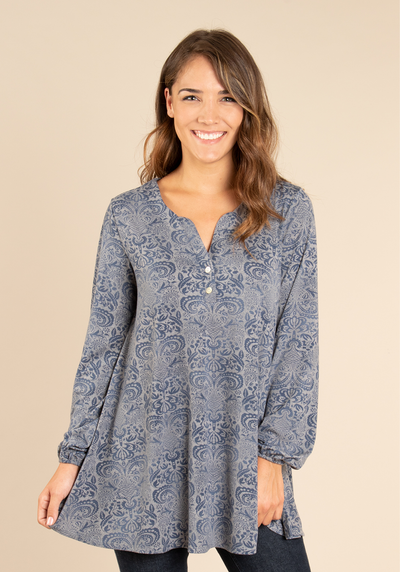 Paisley Print Top (2 Colours)