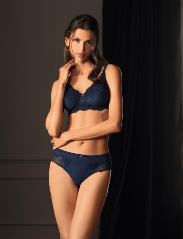 Aurelie Underwire-Dark Blue- 34DD