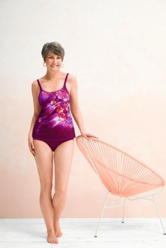 La Paz Tankini Set-Dark Berry
