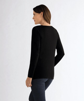 Waterfall Shirt-Black