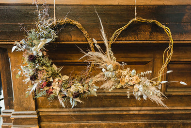 Dried Wreath Workshop Sunday 1st November