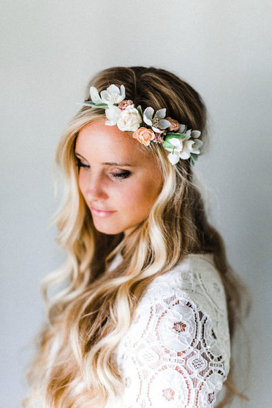 Cup Day Dainty Flower Crown