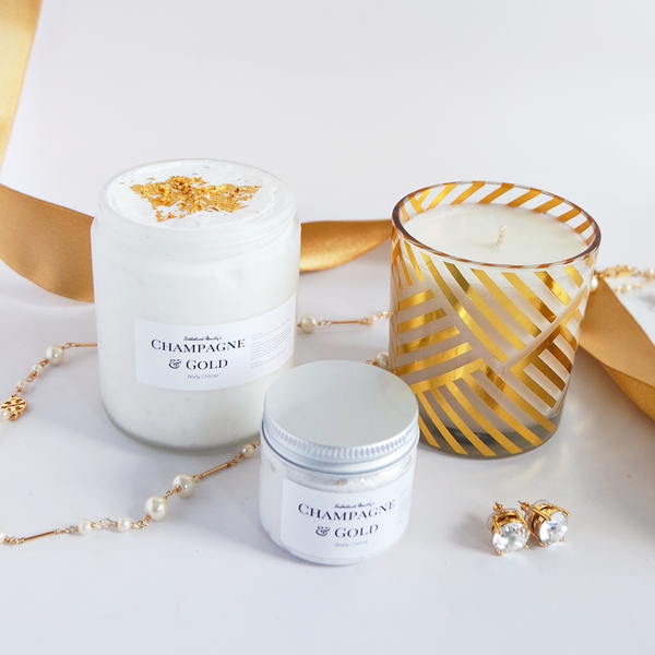 Champagne and Gold Body Crème