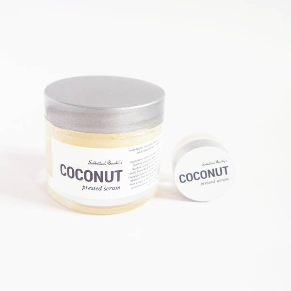 Coconut Pressed Serum