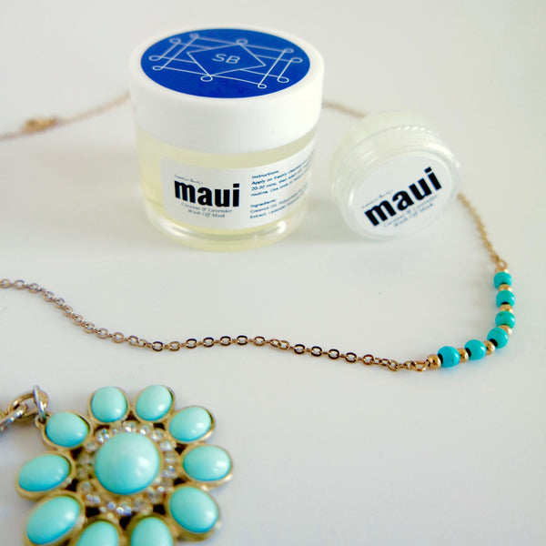 MAUI Coconut & Lavender Wash Off Mask